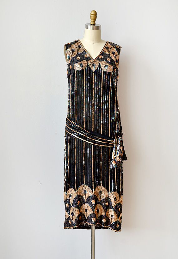 545 best images about 1920s Fashion on Pinterest | Beaded chiffon ...
