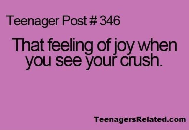 Teenage Posts About Your Boyfriend | the feeling of joy when you see your crush | Teenage Posts