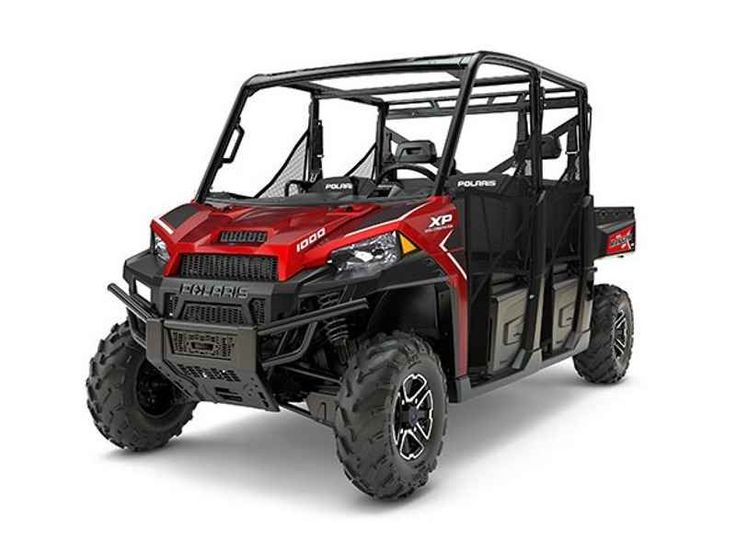 New 2017 Polaris RANGER CREW XP 1000 EPS Sunset Red ATVs For Sale in Alabama. 2017 Polaris RANGER CREW XP 1000 EPS Sunset Red, 2017 Polaris Ranger Crew 1000XP LE EPS 6-Seater Motorsports Superstore in one of the largest volume Polaris dealers in the country. Located between Birmingham AL and Memphis TN just off I-22. We offer delivery to Alabama, Mississippi, Tennesssee, select parts of Florida, and Georgia including the Atlanta area. Give us a call today at 888-880-2277, text us at…