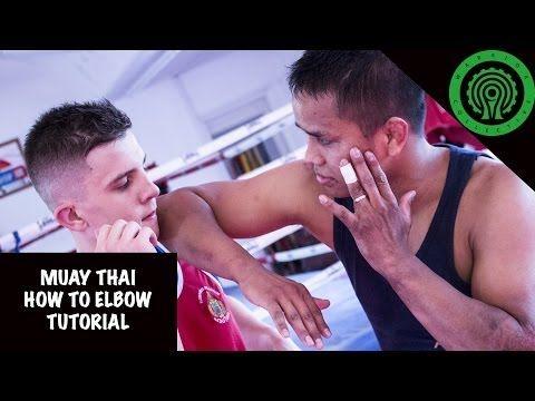 Muay Thai How to Elbow Tutorial - YouTube