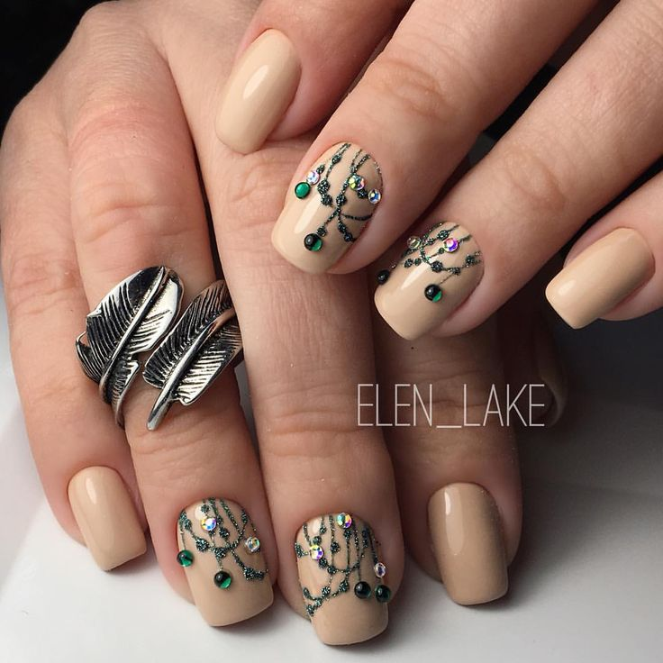 205 best Beige nails images on Pinterest | Beige nails, Nail art ...