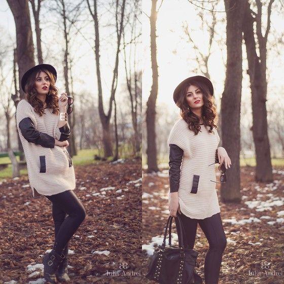 White Sweater - Iulia Andrei
