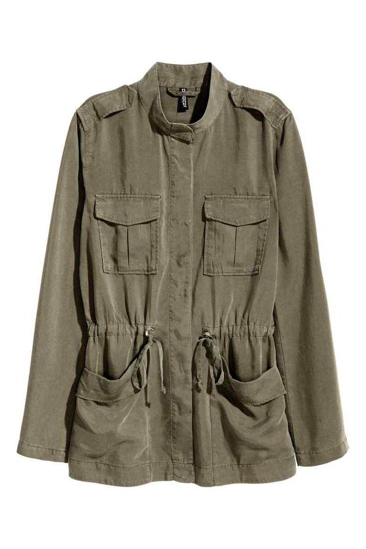 Куртка карго из лиоцелла | H&M