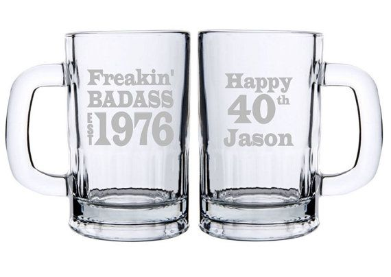 gifts birthday mugs birthday gifts customize it for any birth year this glass is a perfect gift idea for him no matter which birthday heu0027s celebrating