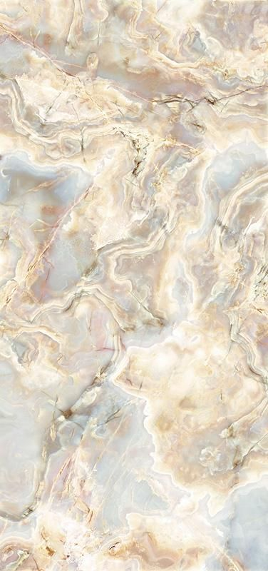 "ViviStone Opal Onyx glass, slab A-4, in Reflect configuration; Size: 48"" X 102"""