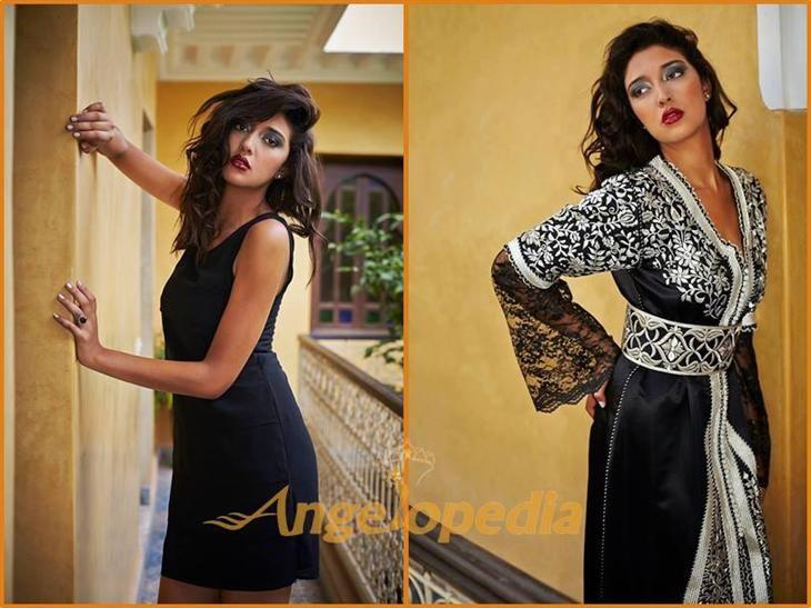 Fatima Ezzahra El-Horre crowned Miss Maroc 2015