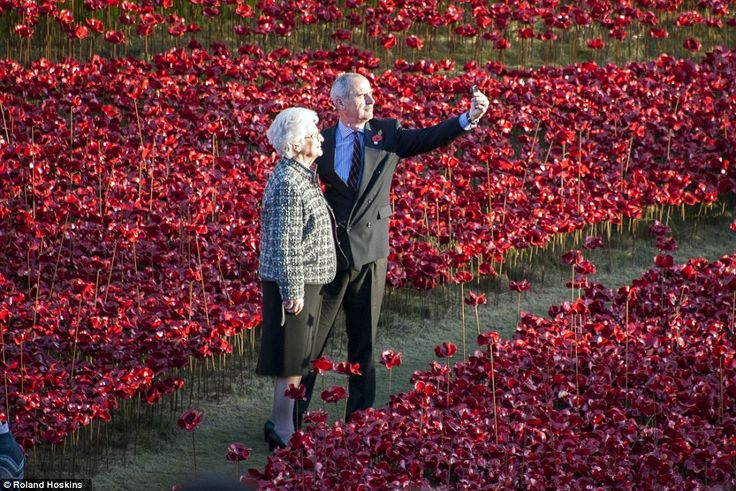 Star attraction: The incredible memorial has been attracting thousands of visitors every w...