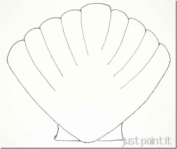editable shell templates sb9766 sparklebox