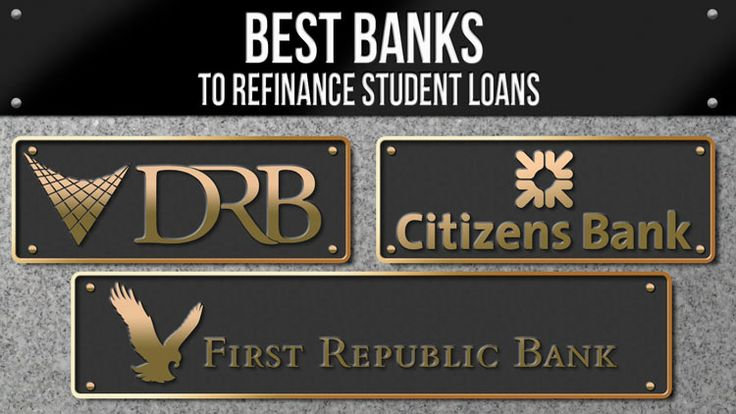 Is your high student loan interest rate holding you back? Check out these three banks to refinance student loan debt and get a low-monthly payment.