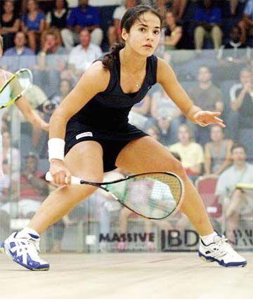 Guyana's squash queen Nicolette Fernandes