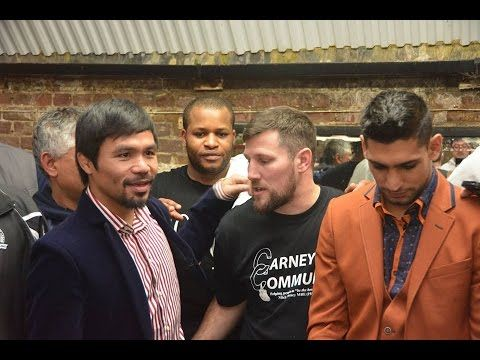 Amir Khan and Manny Pacquiao negotiations for next fight #LDBC