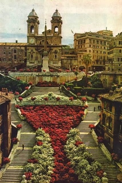 Spanish Steps, Rome, Italy. I can not even describe how incredible Rome is...breathtaking!