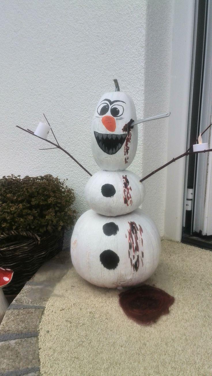 Halloween, Olaf, Kürbis