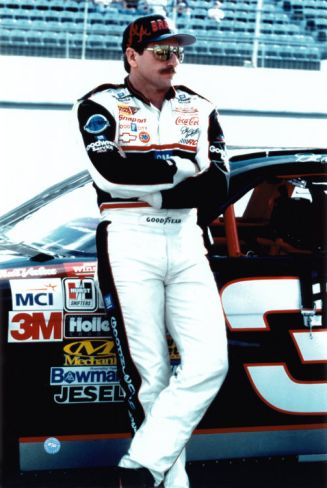 Dale Earnhardt, oh how I miss seeing you race. I will never forget that day!