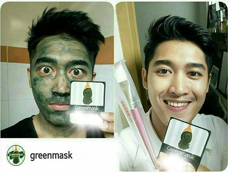 Assalamu'alaikum Sahabat Tausiyah Cinta.. .  Sudah tau Greenmask Masker ?  Masa kamu gak Tau ? . [MASKER WAJAH YG PALING BANYAK DIGEMARI PARA SELEBRITI & SELEBGRAM] . .  Kandungan nutrisi Greenmask Spirulina sangat tinggi 1x masker sama dengan memberi nutrisi 1kg sayuran dan buah segar pada kulit wajah kamu.  Hasilnya ?  Jerawat dan komedo hilang wajah bersih dan kencang seketika !  So? Tunggu apa lagi? Yuk pake GreenMask   FREE KONSULTASI !! FOLLOW -----> @GreenmaskMurah FOLLOW…