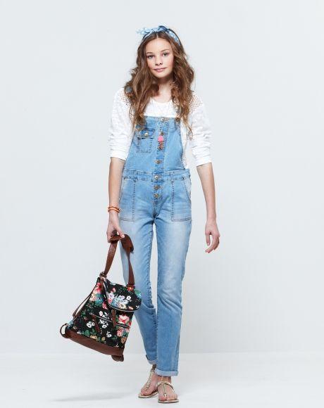 Pavement United Brands - Celeste Top + Tara Overalls + Flower Backpack + Serena Sparkly Sandals