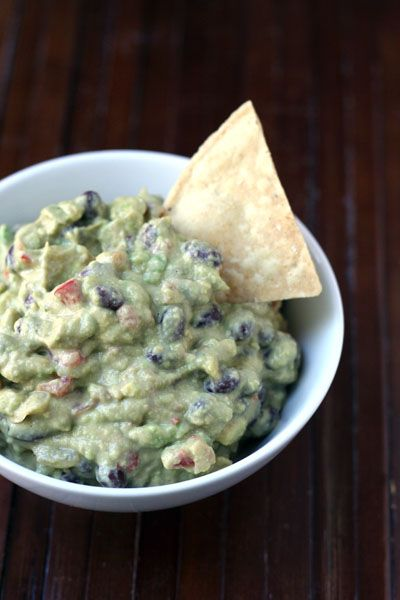 Hummus Guacamole Dip...my favorite dip hands down and it's super good for you, too!
