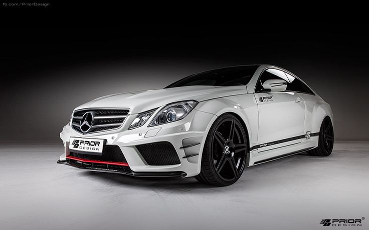 PRIOR-DESIGN PD850 Black Edition Widebody Aerodynamic-Kit for Mercedes E-Classe Coupe [C207] - PRIOR-DESIGN Exclusive Tuning