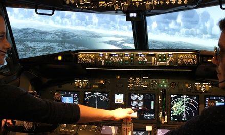 Flight Sensations Paris à Pontoise : Piloter un simulateur articulé: #PONTOISE 49.00€ au lieu de 149.00€ (67% de réduction)