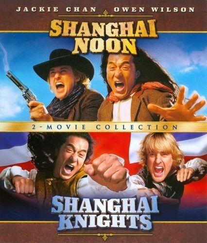 Shanghai Noon dual movie set blu-ray