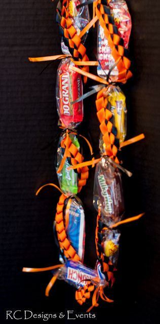 Candy Leis for your next graduation or special event | by RC Designs and Events