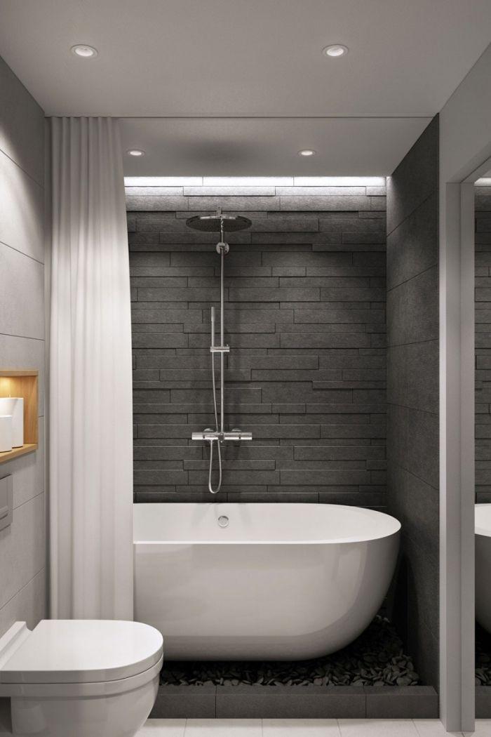 89 Design De Salle De Bain En Gris Et Blanc Cheap Bathroom