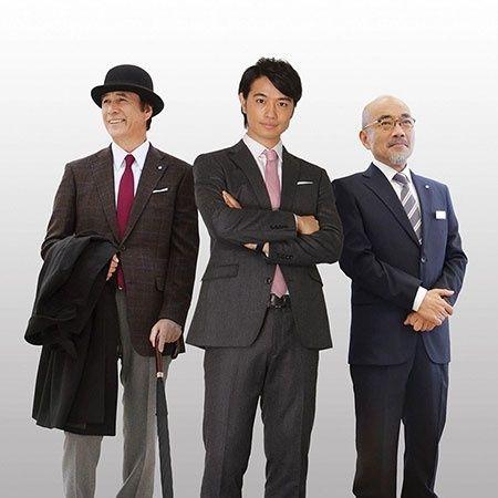 (画像2/2) (左から)竹中直人、斎藤工、竹中直人 - 斎藤工、鍛え上げられた肉体を披露 男の色気を醸す