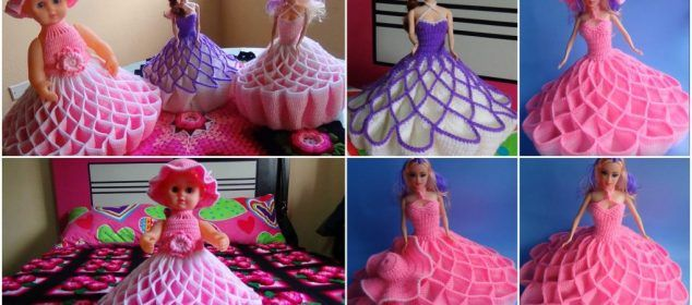 How to Crochet Doll Dress (Step by Step)