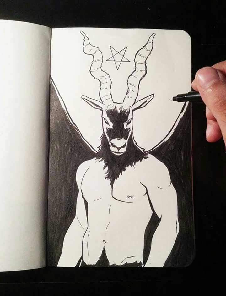Inktober day 1: Devil
