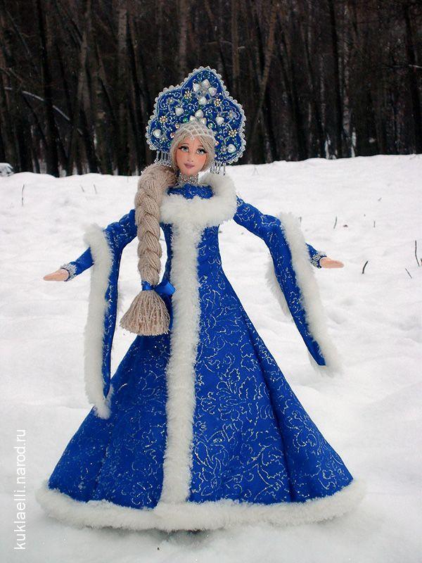 Как сделать костюм снегурочки своими руками фото
