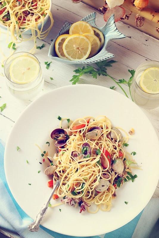 Seafood Pasta by justlovecookin #Seafood #Pasta #justlovecookiin