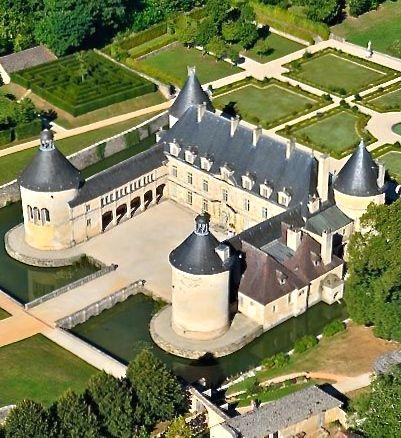 Château de Bussy-Rabutin, Côte d'Or, Bourgogne, France