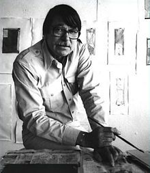Richard Diebenkorn (April 22, 1922 – March 30, 1993) was an American painter. His early work is associated with abstract expressionism and the Bay Area Figurative Movement of the 1950s and 1960s. His later work (best known as the Ocean Park paintings) were instrumental to his achievement of worldwide acclaim.