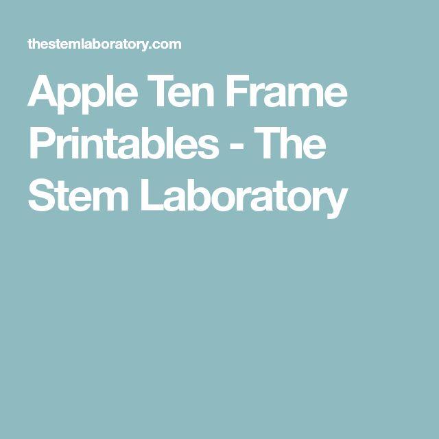 The 25+ best Ten frame activities ideas on Pinterest - ten frame template
