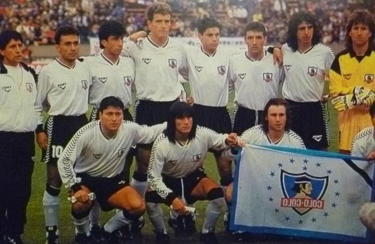 Colo Colo en la Final Intercontiental en Tokio en 1991 ante Estrella Roja.