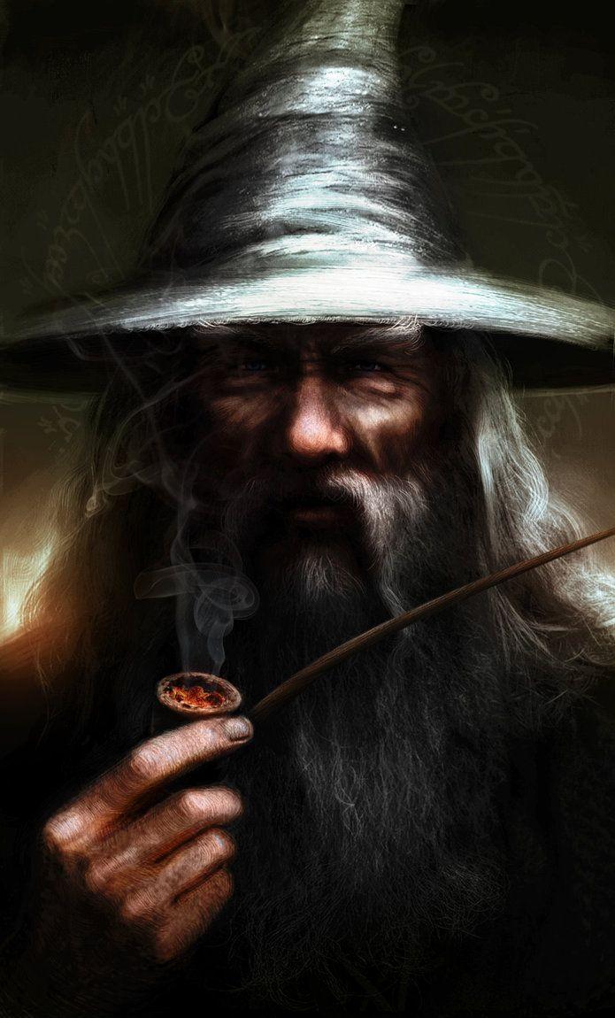 Gandalf the Grey by Leone-art.deviantart.com on @DeviantArt