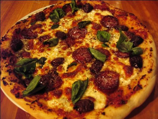 Wood Oven style pizza at home!