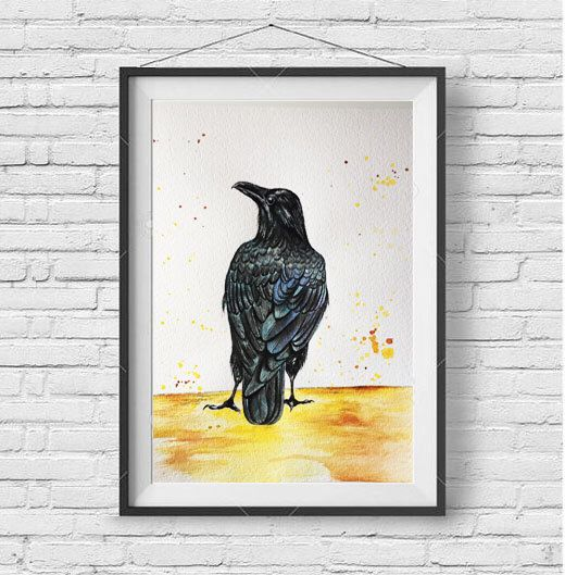 A personal favorite from my Etsy shop https://www.etsy.com/listing/491074936/blackbird
