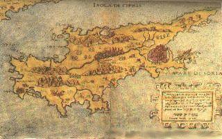 Старинные карты Кипра