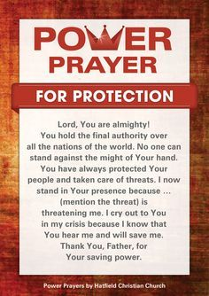prayer for safety & protection for family & friends - Google Search