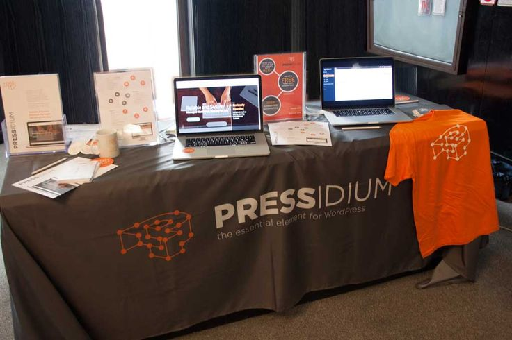The Pressidium Booth at Word Camp EU 2014