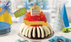 Groupon - $ 13 for $20 Worth of Bundt Cakes at Nothing Bundt Cakes in Metairie. Groupon deal price: $13
