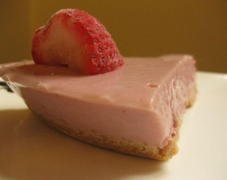 Mum's Strawberry-Yoghurt Fridge Tart...