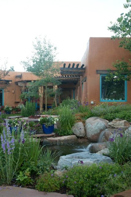 Exceptional Love The Southwest Colors! Beautiful Water Feature For Your Arizona Garden.