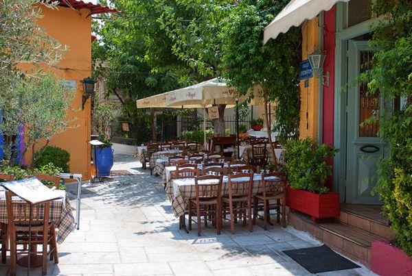 Greek Tavern in Plaka
