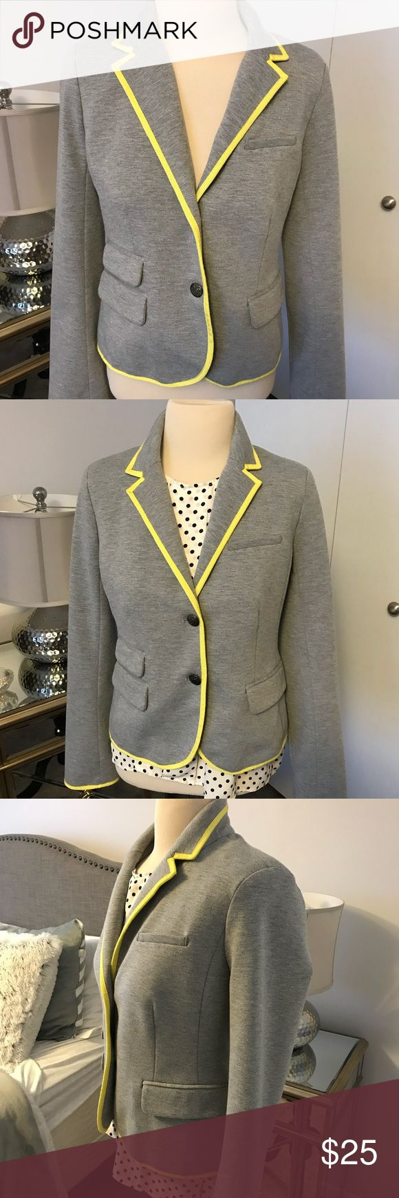 GAP Academy Jersey blazer Cute Gap jacket, so versatile, wear with anything! Dressed up or down, it looks casual or chic. GAP Jackets & Coats Blazers