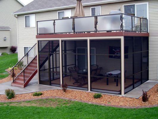 52 Bronze Screen Porch Walls Under Patio Under Decks