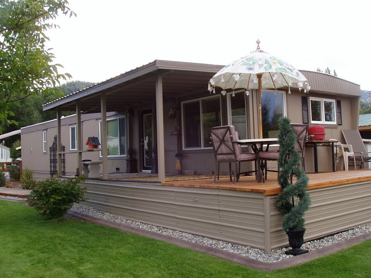 Amazing Remodel Of A Single Wide Trailer