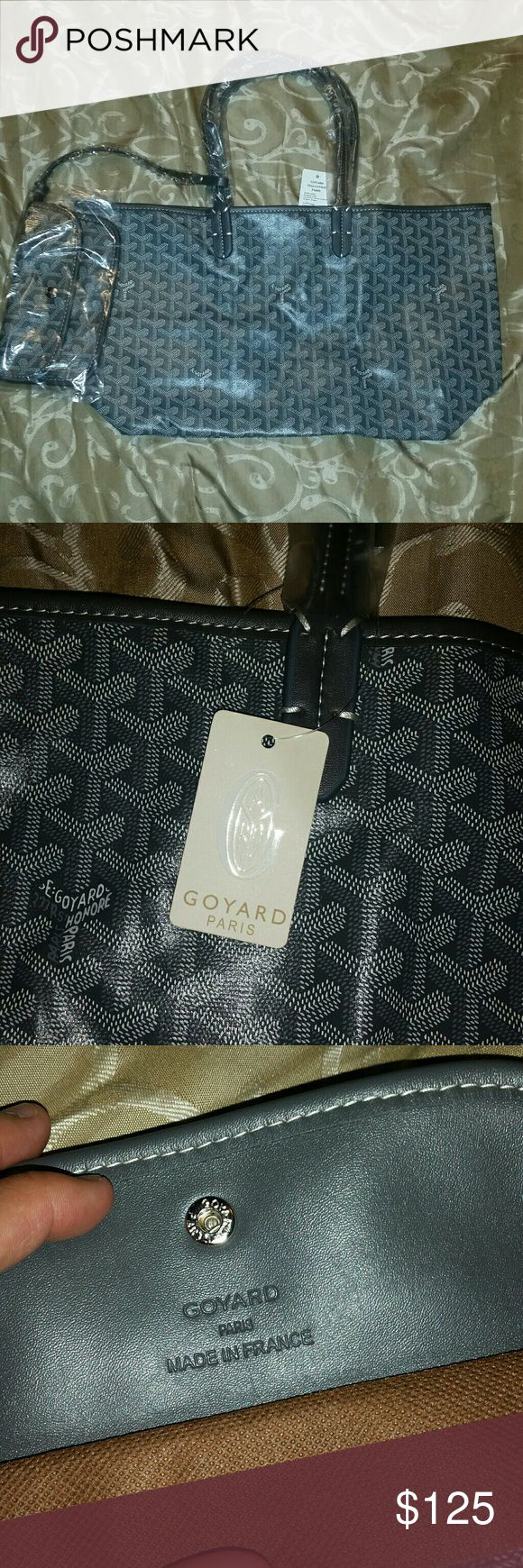 Tote bag and wallet Price says it all. Looks amazing and on point. Comes with a dustbag and tag. Goyard Bags Totes