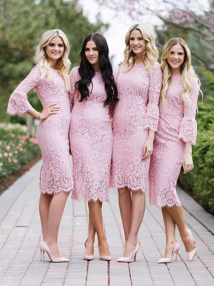 Sheath Column Bridesmaid Dresses Prom Tulle Dress Evening